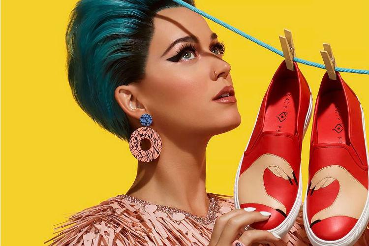 Katy Perry lanzará su línea de calzado