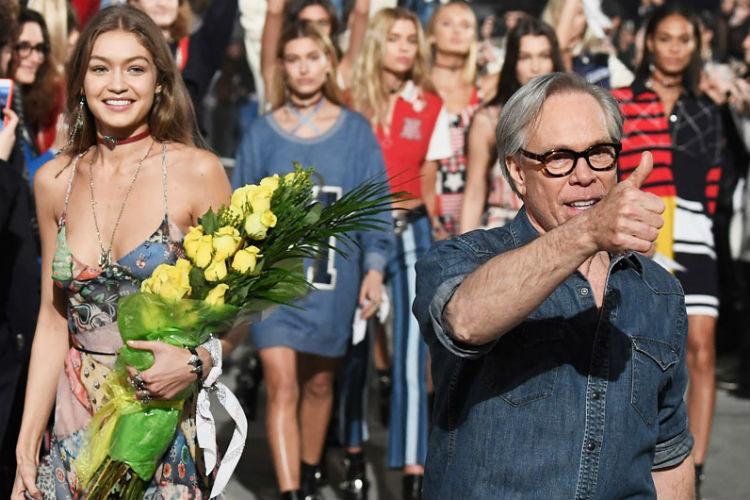 Tommy Hilfiger con Gigi Hadid