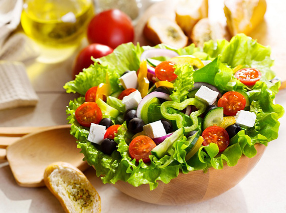 ensalada dieta colores