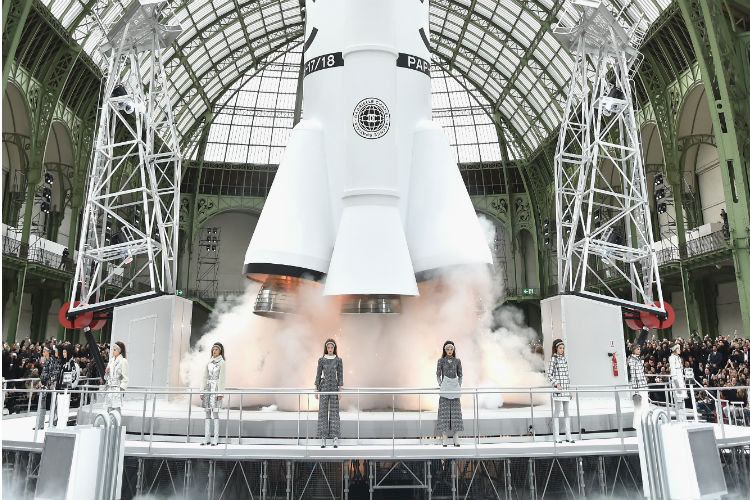 La estación espacial de Chanel