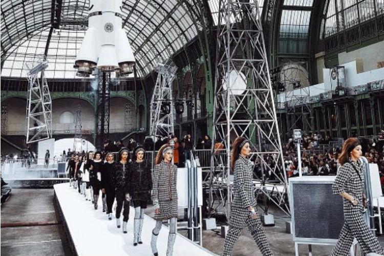 La estación espacial de Chanel
