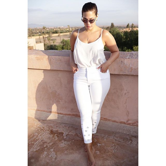 modelo curvy Ashley Graham