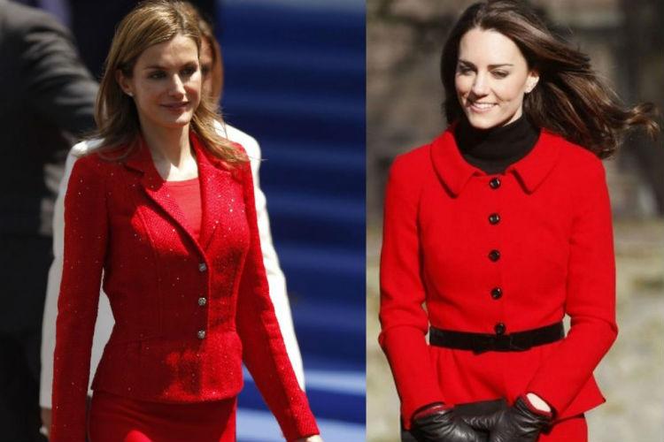 Letizia de Ortiz y Kate Middleton