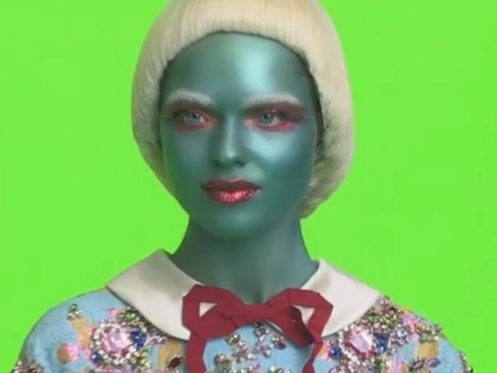 Gucci aliens