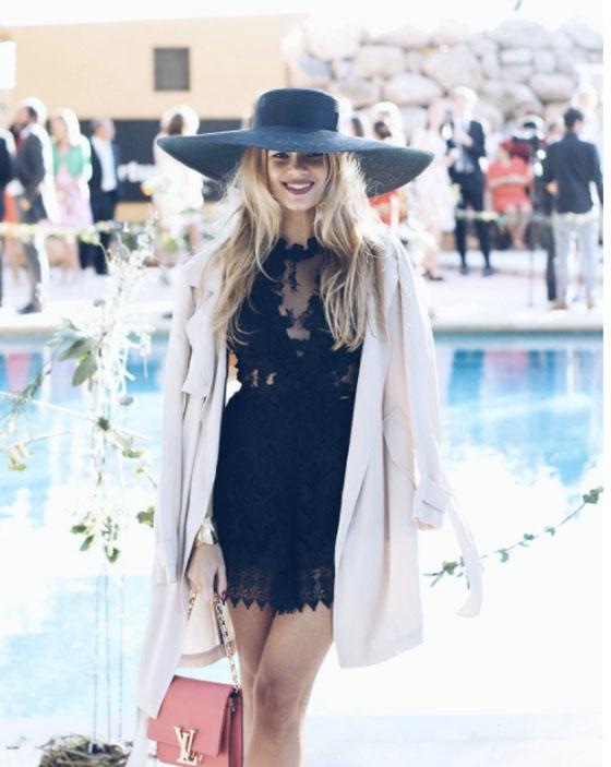 vestido negro boda