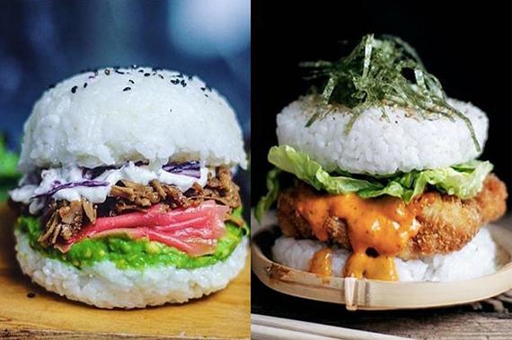 hamburguesa de sushi