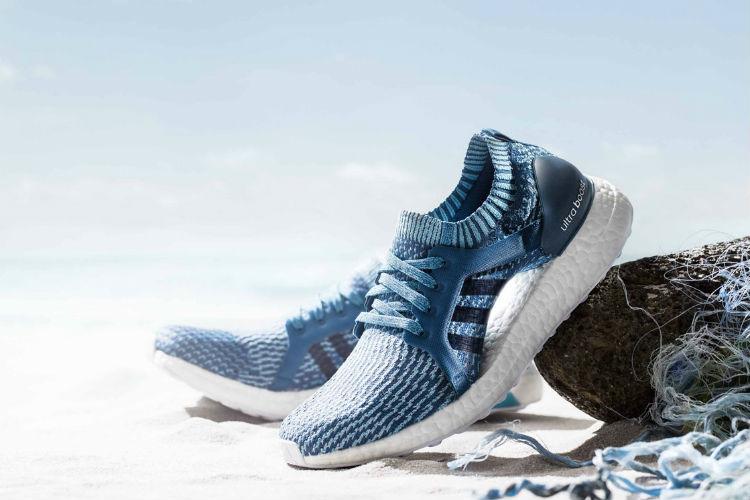 ADIDAS crea zapatillas con desechos marinos