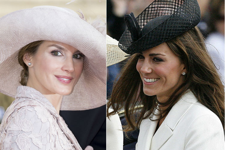 Letizia de Ortiz y Kate Middleton