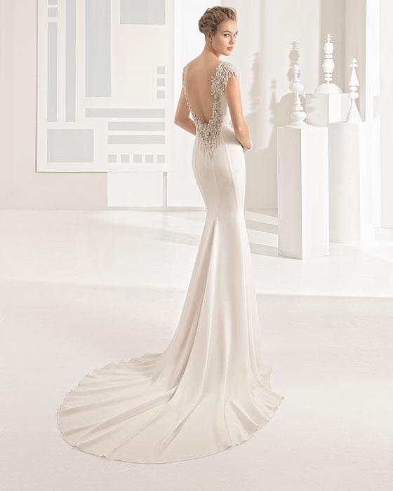 rosa clara vestidos novia