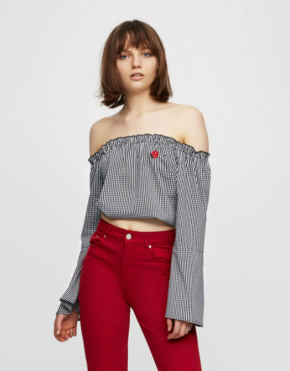 tops pull and bear 2017