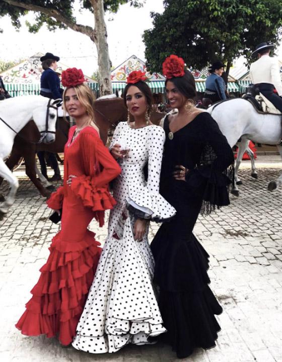 vestido flamenca lunares