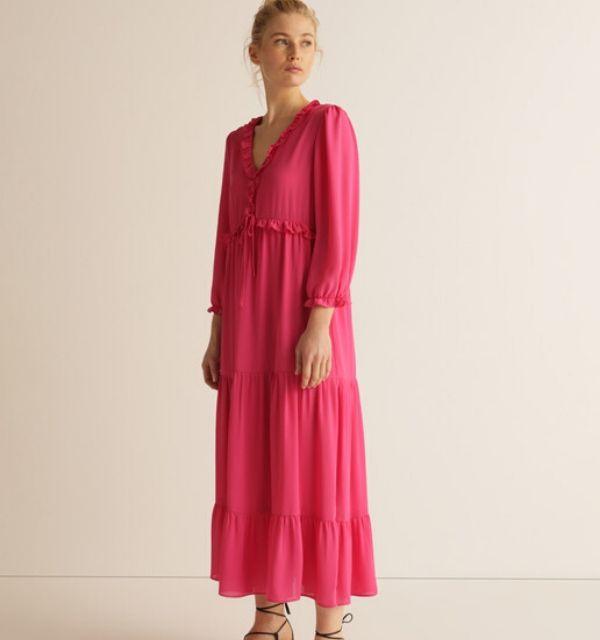 Vestido Rosa Amitie