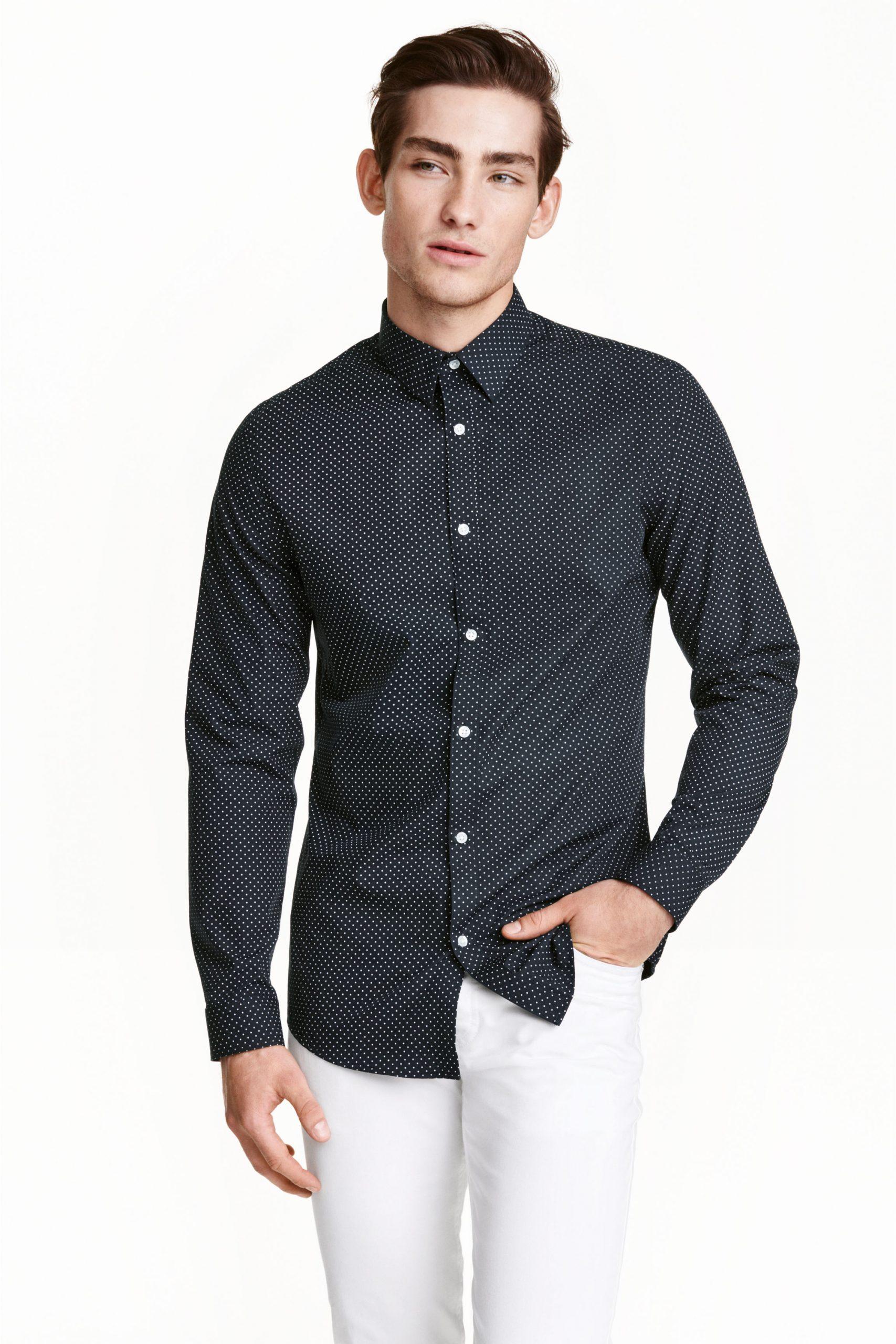 Camisa rebajas hombre H&M Verano 2017