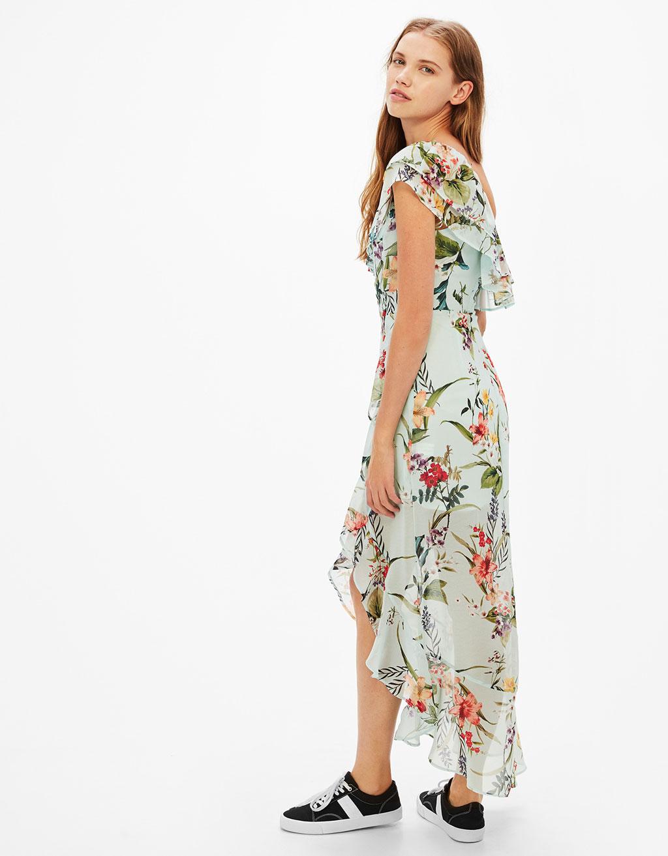 vestido mujer asimetrico
