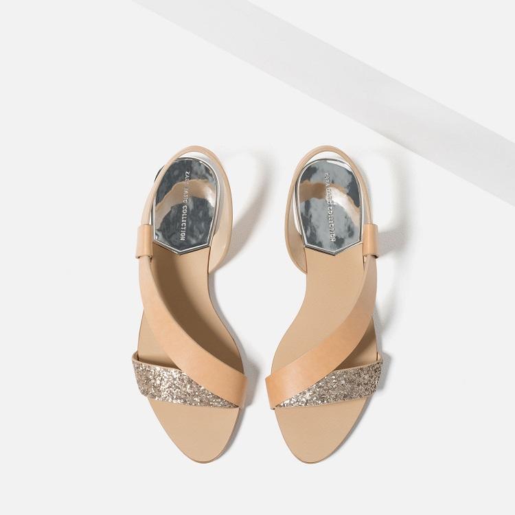 sandalias zara joya de la corona