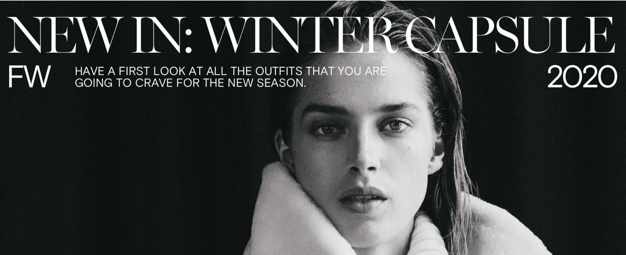 Nueva temporada otoño-invierno de Massimo Dutti para mujer