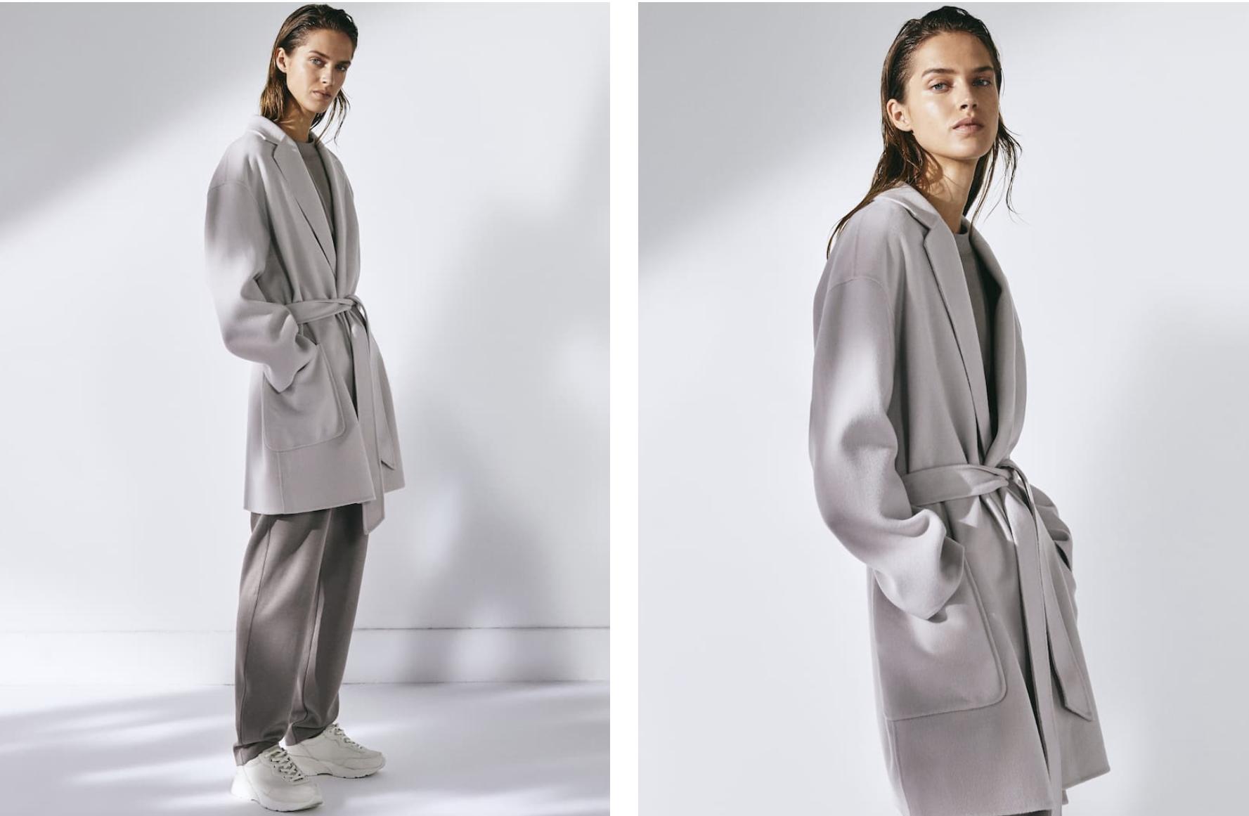Abrigo corto de Massimo Dutti