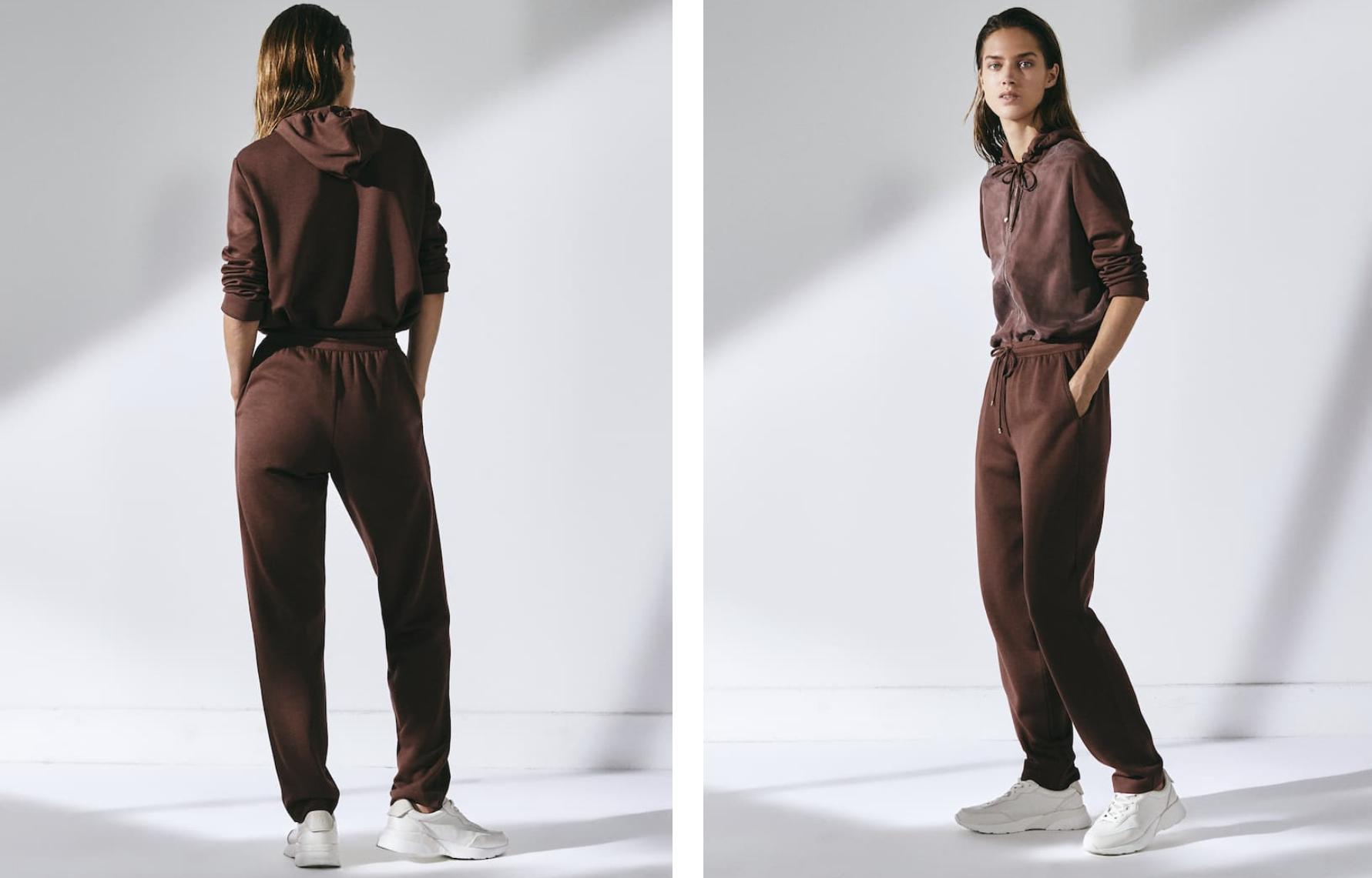 Pantalón jogging fit de Massimo Dutti