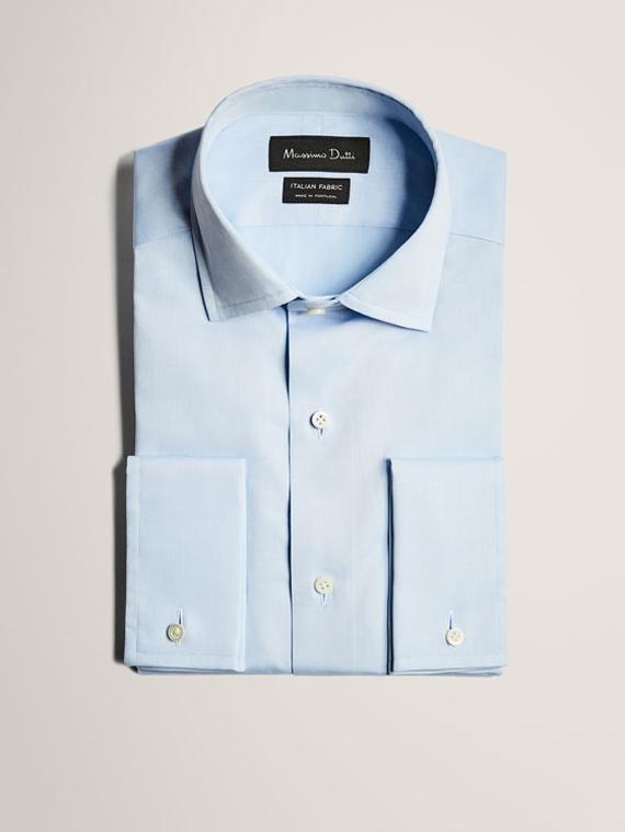 camisa azul travel