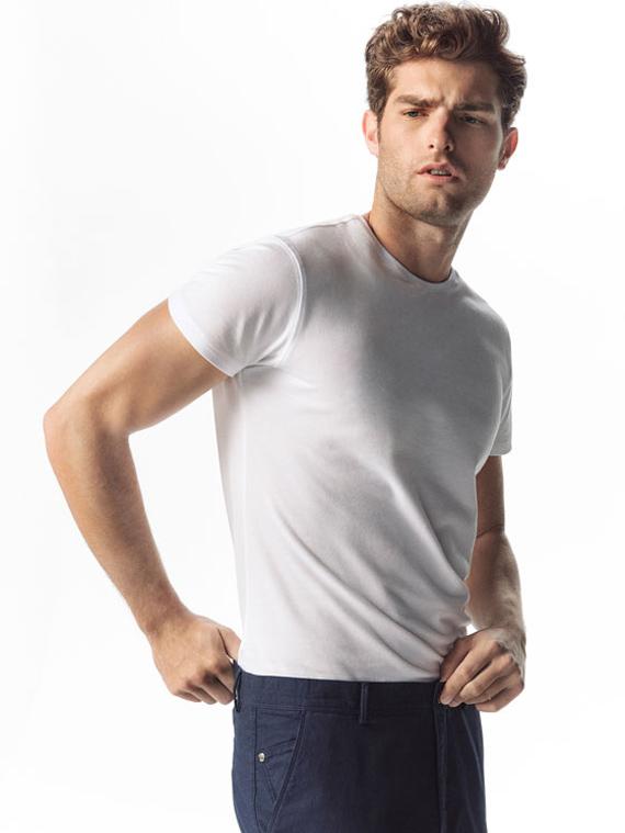 camiseta blanca massimo dutti