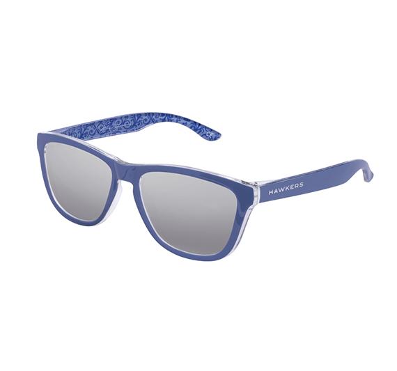 Hawkers gafas sol azul brillo