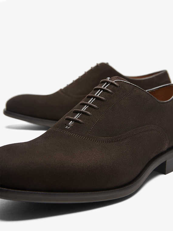 calzado massimo dutti marron