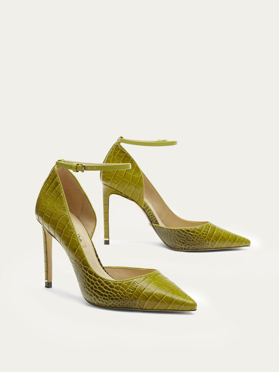 zapato salon asimetrico mujer
