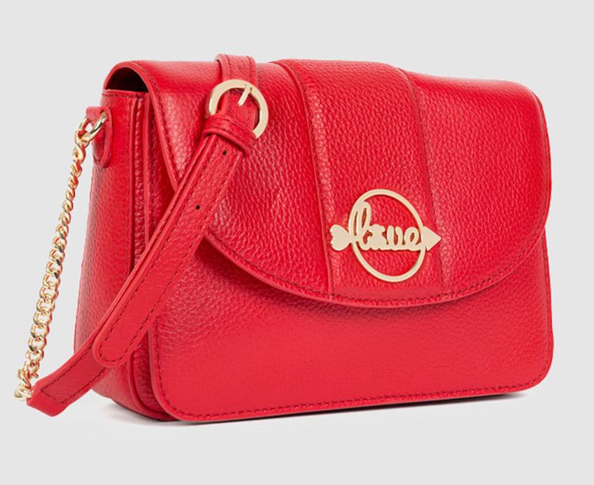 bolso rojo pequeño tous