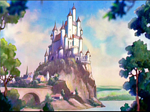 castillo blancanieves película