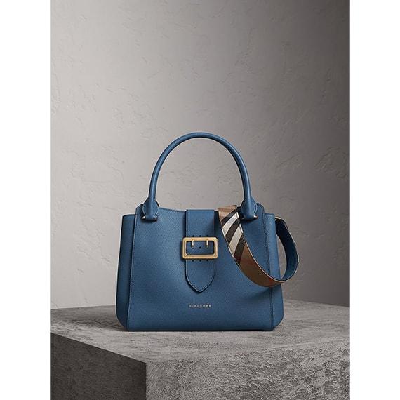 bolsos Burberry tote azul