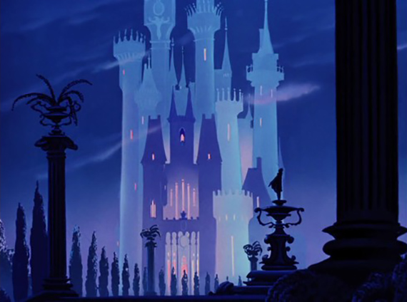 castillo cenicienta película