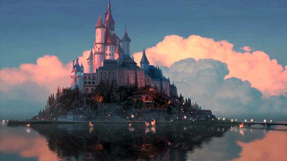 castillo enredados película