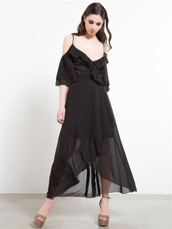 vestidos Fornarina casual armelle negro
