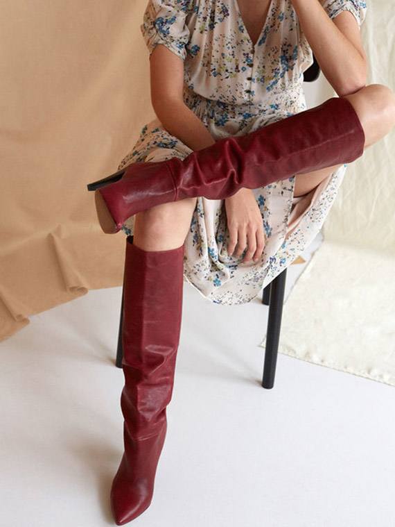Intropia estampados botas