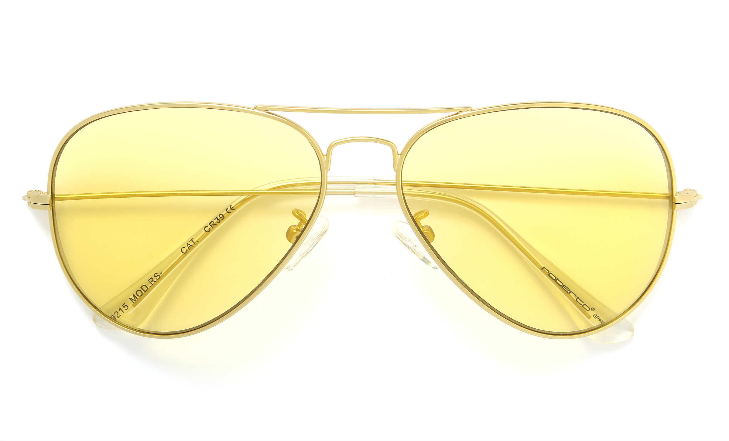 gafas amarillas transparente roberto martin