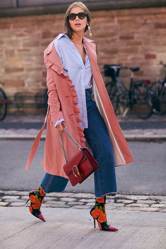 botines Balenciaga con jeans
