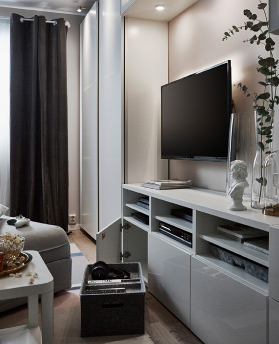 zona de ocio para un salón pequeño IKEA