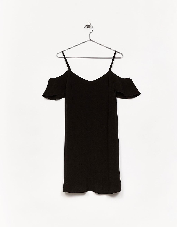 vestudo negro bershka
