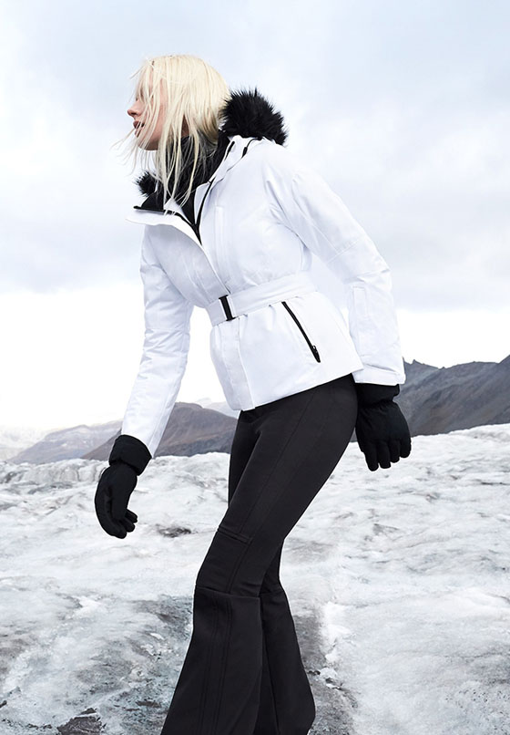 mujer coleccion ropa nieve