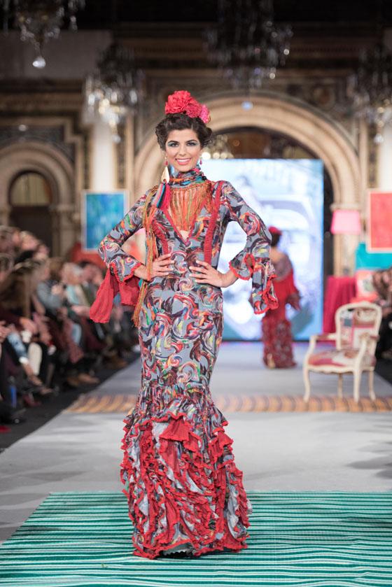 traje flamenca colores
