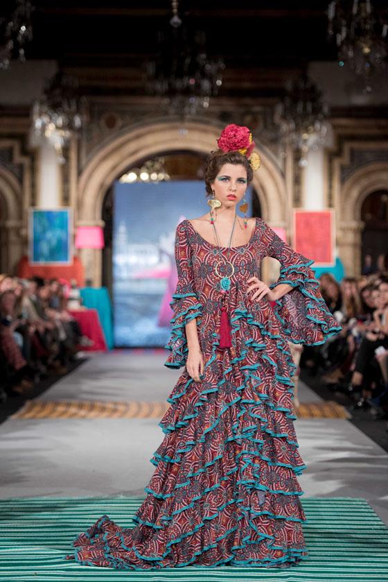 tendencia traje flamenco