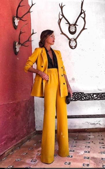 rocio osorno traje de chaqueta