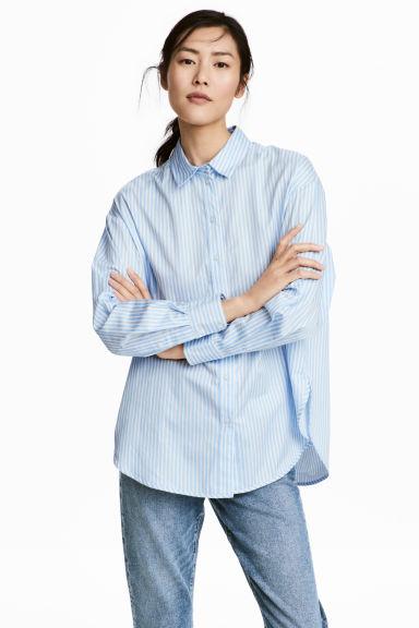 camisas oversize hm