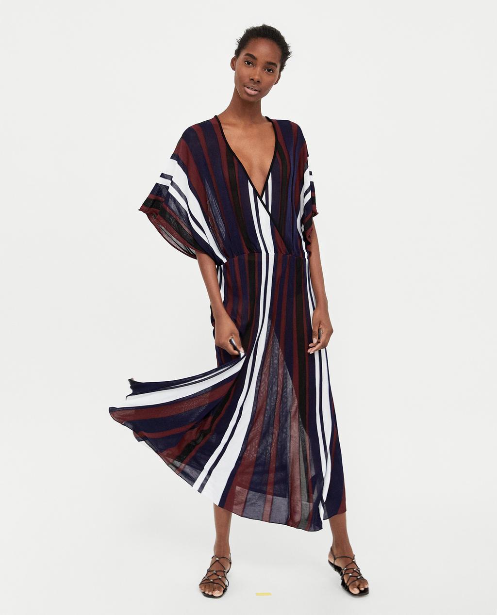 vestido largo lazada