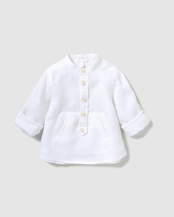camisa lino bass 10