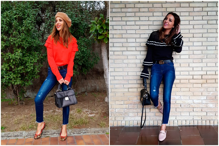 paula echevarria jeans