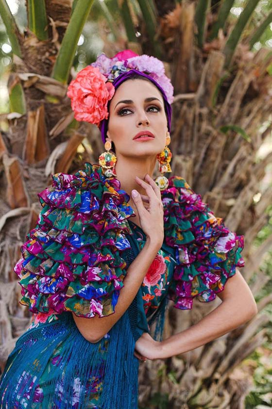 Traje flamenca Rocío Peralta VdV