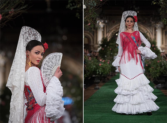 Traje flamenca Rocío Peraltablanco