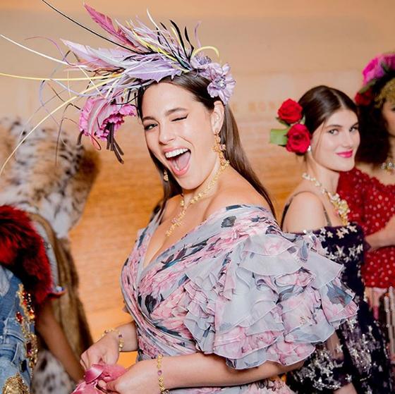 modelo Dolce Gabbana