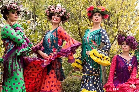 Trajes flamenca Rocío Peralta